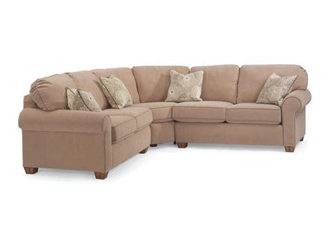 flexsteel thornton sofa reviews flexsteel living room thornton fabric sectional 3535 sect