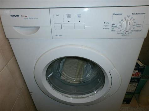 waschmaschine bosch maxx younggeneration wfl288y 05 in ihringen waschmaschinen kaufen und