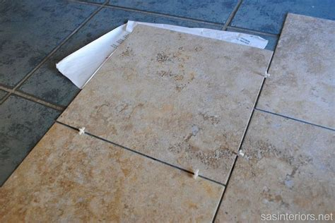 Groutable Vinyl Tile Durability by Installing Groutable Luxury Vinyl Tile Kitchen