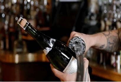 Champagne Bottle Bar Open Sabering Lic Gifs