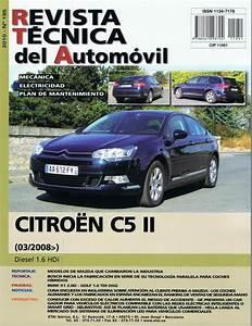 Manual De Taller Y Mecanica Citroen C5 Ii 1 6 Hdi Desde 2008 R195 Regalo Tester