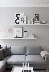 living room details grey walls from createcph living With wall racks designs for living rooms
