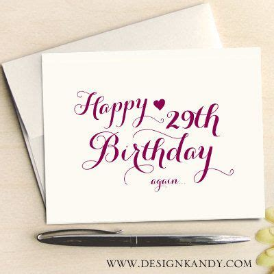 You can also upload personal photos, illustrations or images into design wizard for free and use them to personalize your greeting birthday card. Birthday Cards Set of 8 for her, happy 29th birthday, calligraphy font by Designkandy, $14.95 ...