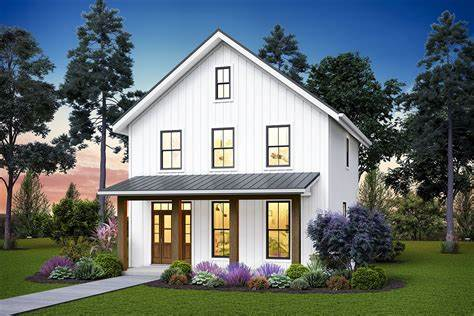 Plan 69742AM: Cozy Two story Home with Second level