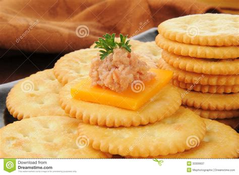 ham canapes deviled ham and cheese canapes royalty free stock
