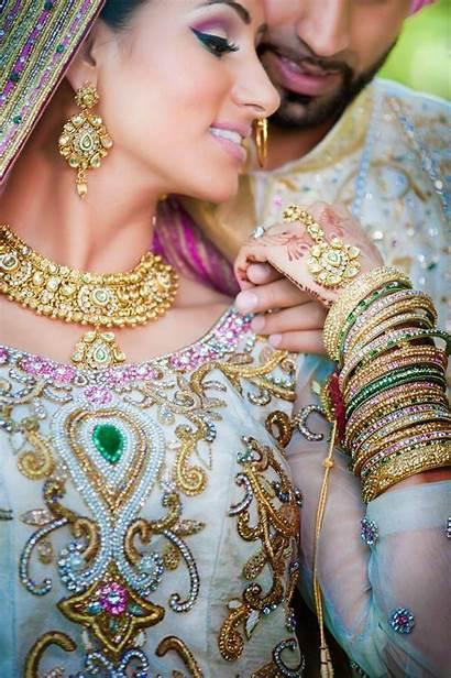 Punjabi Indian Bride Groom Bridal Weddings Makeup