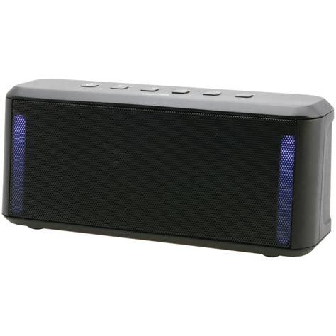 speaker that changes color ilive blue isb224b portable color change bluetooth r