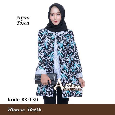 Blouse Wanita Atasan Wanita jual blouse batik atasan wanita baju kemeja wanita batik