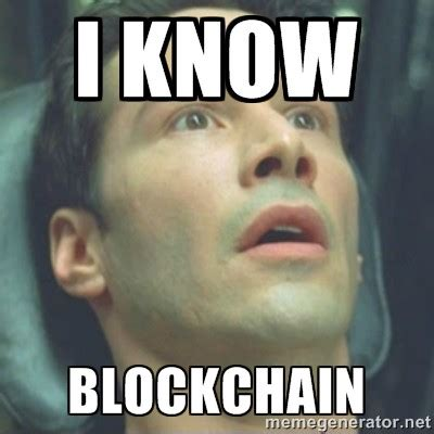 The Matrix Meme - neo from the matrix masters the blockchain meme linkreply blockchain medium