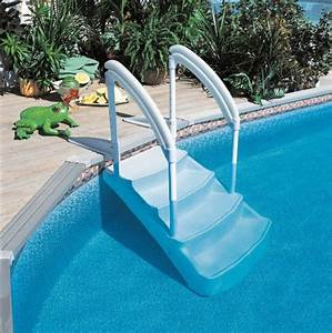 Escalier Pour Piscine Hors Sol : escalier piscine un quipement de confort ~ Dailycaller-alerts.com Idées de Décoration