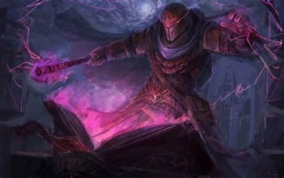 Wizard Magic Fantasy Sorcerer Artwork Tome Magician