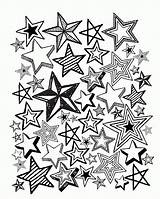 Coloring Adult Pages Adults Country Winter Print Colouring Printable Cottage Sheets July Books Stars Thecountrychiccottage Zumba Advanced Chic Clipartmag Fourth sketch template