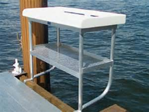dock accessories ladders tiki huts fish cleaning and