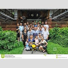Chinese Family Editorial Image Image Of Garden