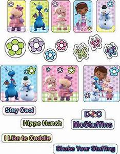 Stickers 2, Doc McStuffins, Stickers - Free Printable ...