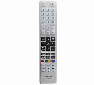 New  Genuine Toshiba Ct  Ct8035 Tv Remote Control