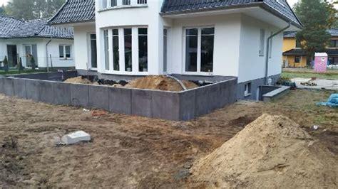 l steine abdichten terrassenbau wilhelmshorst saarmund