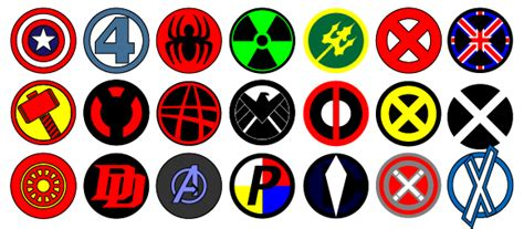 Vector Marvel Logos By Sand3 On Deviantart