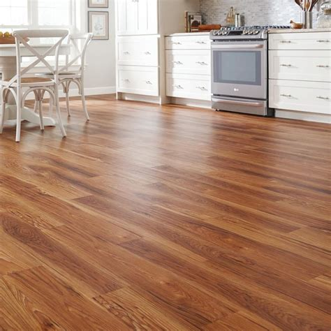 Allure Plank Flooring Home Depot High Point Chestnut 15