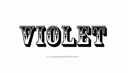 Violet Tattoo Names Designs Tattoos Colors
