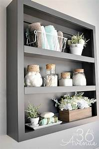 20 cool bathroom decor ideas that you are going to love With tips to decorate bathroom storage shelves