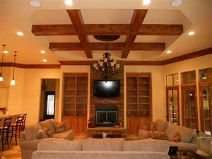 25 stunning ceiling designs for your home for Interior ceiling design for living room