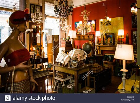 antique dealers antique dealer shop in san telmo neighborhood buenos aires stock photo royalty free image
