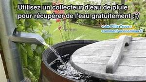 Collecteur D Eau De Pluie Pour Gouttières : utilisez un collecteur d 39 eau de pluie pour r cup rer de l ~ Dailycaller-alerts.com Idées de Décoration
