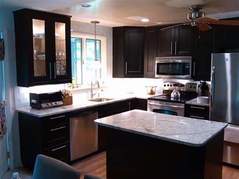 modern kitchen cabinet decor ideas features microwave