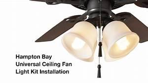 Ceiling fan light kit installation campernel designs