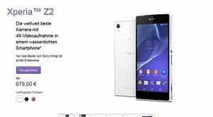 Sony Apparently Increases Xperia Z2's Price in Germany ...