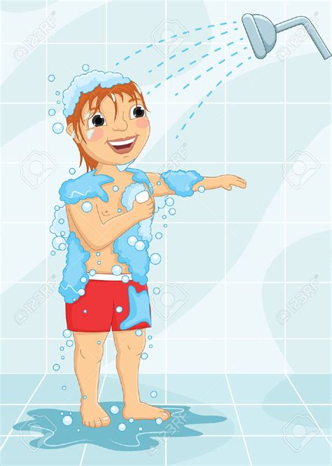 boy bath clipart clipground
