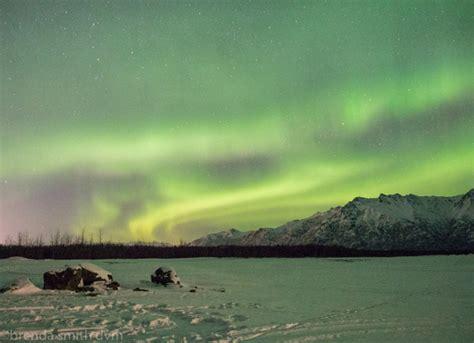 northern lights anchorage alaska day  mis