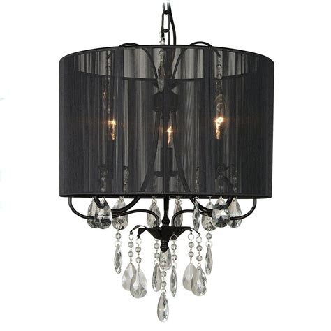black ceiling chandelier filament design xavier 3 light black incandescent ceiling