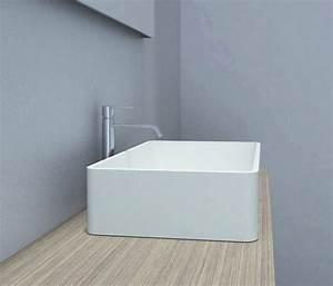 Designer Waschbecken Günstig : aufsatzbecken aufsatz waschbecken rechteck pb2012 design geradlinig 60 x 40 x 15 cm badewelt ~ Sanjose-hotels-ca.com Haus und Dekorationen