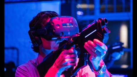 Hologate Virtual Reality Shooting Experience At Iaapa 2017