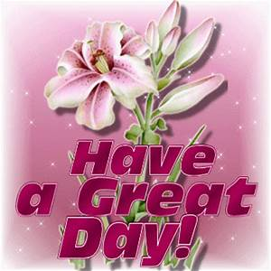 Have a Great Day Animated Graphics - Animate It!