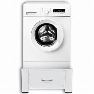 Articoli per Supporto alzatina con cassetto per lavatrice bianco vidaXL it