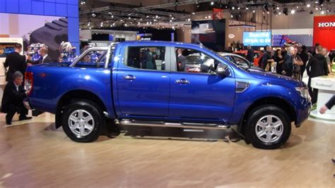ford ranger wildtrak blue all new ford ranger wildtrak at aims 2011