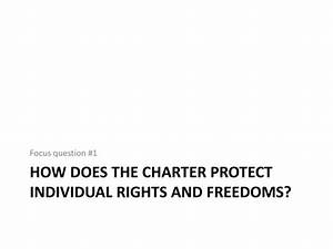 PPT - The Canadian Charter of Rights and Freedoms ...