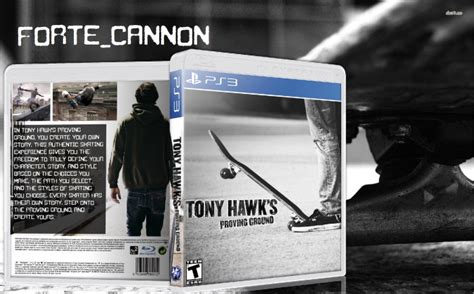 tony hawks proving ground playstation  box art cover