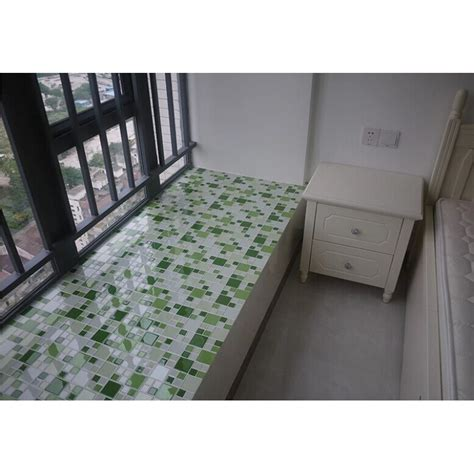 mosaic tile kitchen countertop green glass mosaic window countertop glass tile 7866