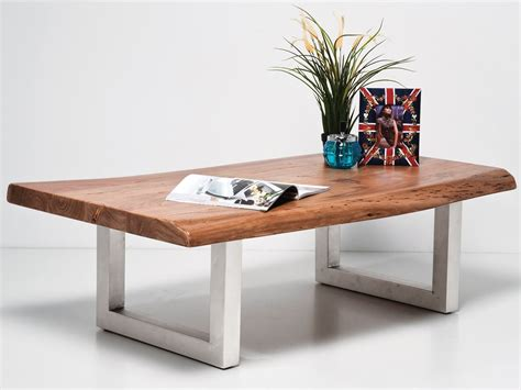 Stain the panels and let dry. RECTANGULAR WOODEN COFFEE TABLE NATURE LINE BY KARE-DESIGN