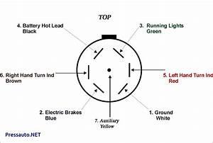 Phillips 7 Way Trailer Plug Wiring Diagram
