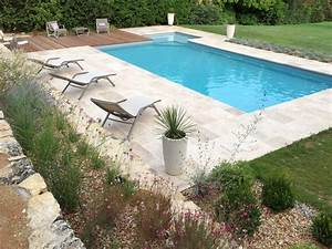 Travertin Exterieur Piscine : amenagement piscine travertin ~ Nature-et-papiers.com Idées de Décoration