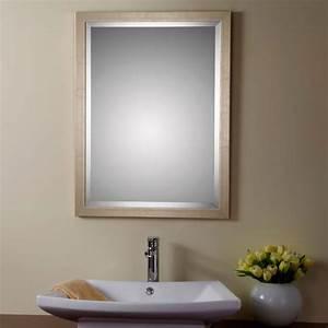 miroir salle de bain bois myqtocom With miroir salle de bain cadre bois