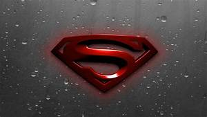New Superman Logo Wallpaper - WallpaperSafari