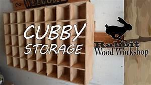 Cubby Storage Easy Build