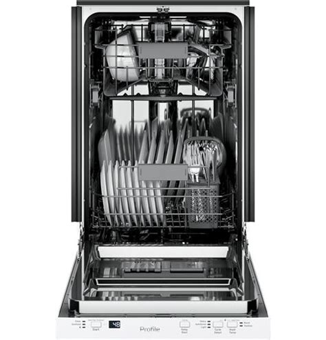 ge profile  built  dishwasher pdtsglww ge appliances