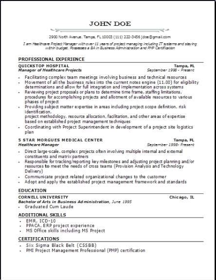 medical professional resume occupationalexamplessamples  edit  word